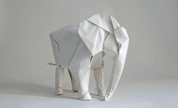Origamis de animales a escala real