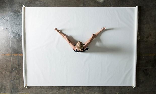 Baile sobre papel