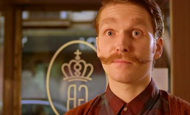 El bigote perfecto para promocionar la nueva película de Wes Anderson
