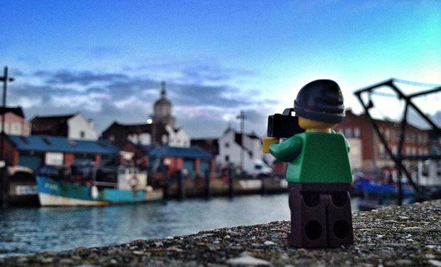 El LEGO que saca fotografías por el mundo