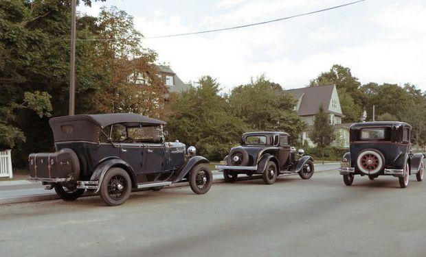 Miniaturas y perspectiva para recrear fotos históricas