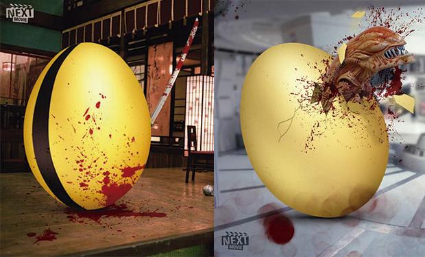Los huevos de Pascua y el séptimo arte