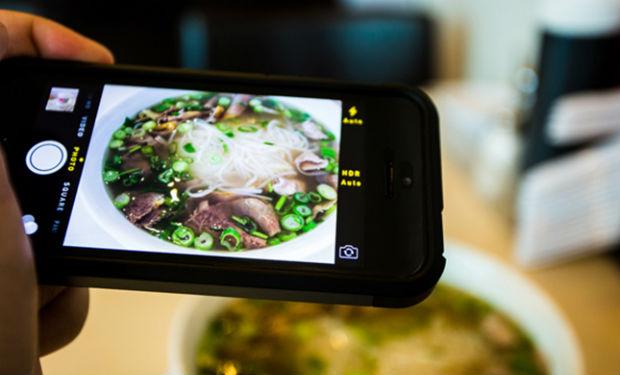 Aplicación para saber cuántas calorías tienen los platos de comida que publicás en Instagram