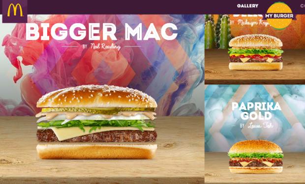 McDonald's y una acción para personalizar tu hamburguesa