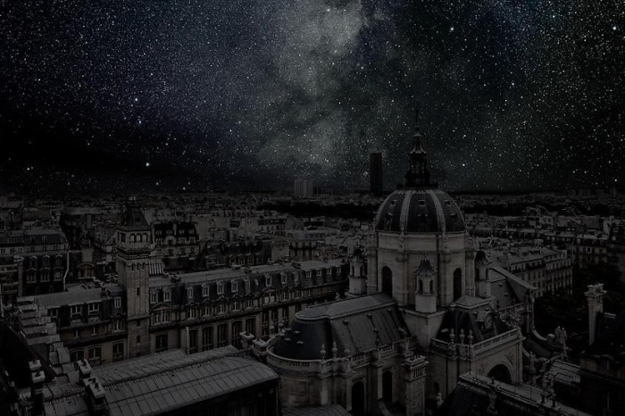 ¿Cómo se verían las grandes ciudades sin luz eléctrica?