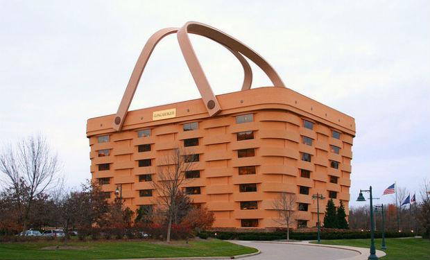 Edificios con forma de objetos