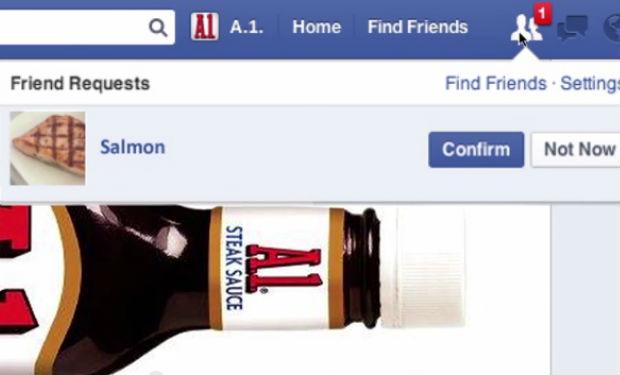 Un aderezo con su propio perfil de Facebook