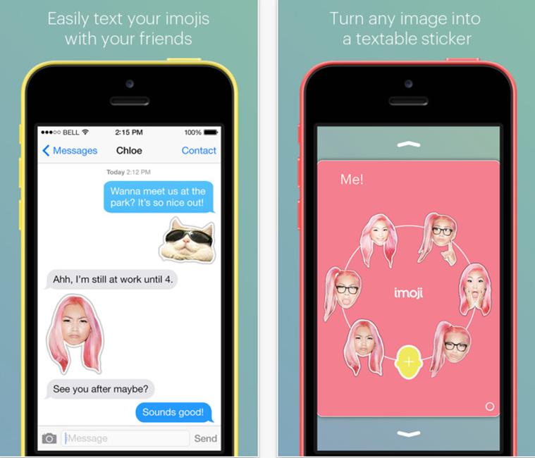 Una aplicación para crear tus propios emojis