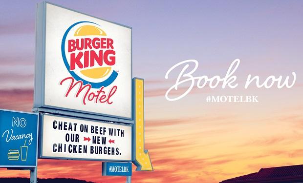 Los hoteles alojamiento de Burger King