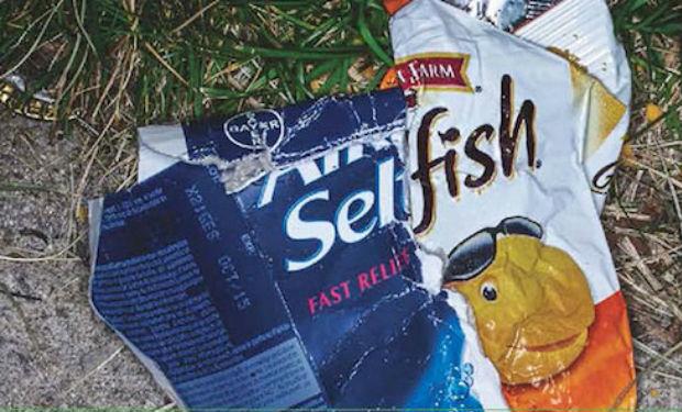 Una innovadora campaña dirigida a quienes tiran basura en las calles