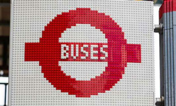 LEGO lo hace de nuevo: ambient marketing en las calles de Londres