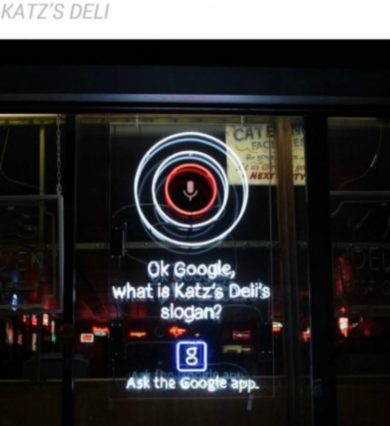 Un ingenioso caso de mobile marketing en Nueva York