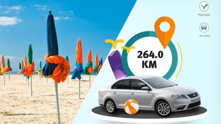 Una app de SEAT que usa las vacaciones para vender más autos