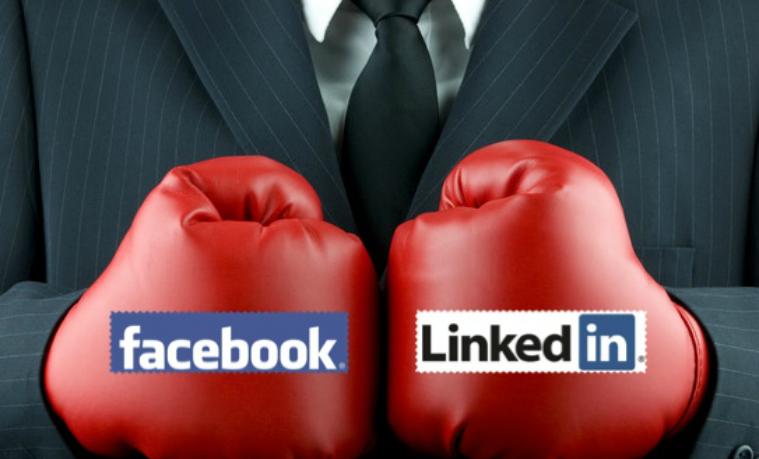 La pelea por los usuarios: Facebook at Work vs. LinkedIn