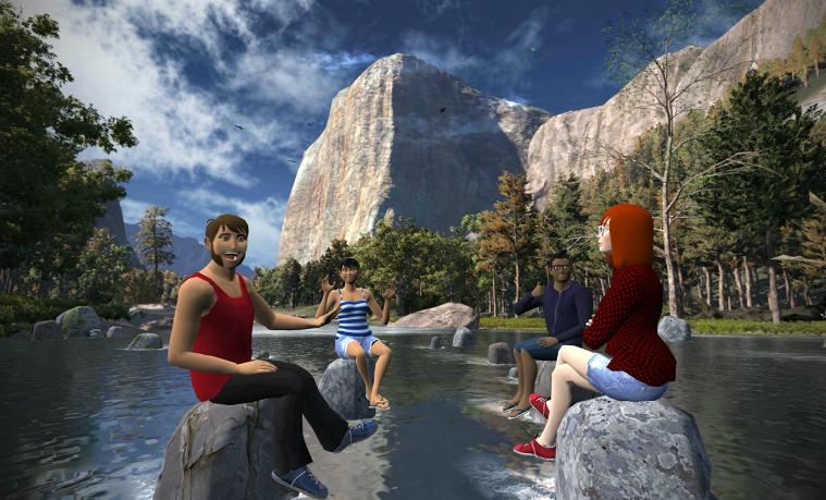 vTime: la red social para reunirte con tus amigos en la realidad virtual