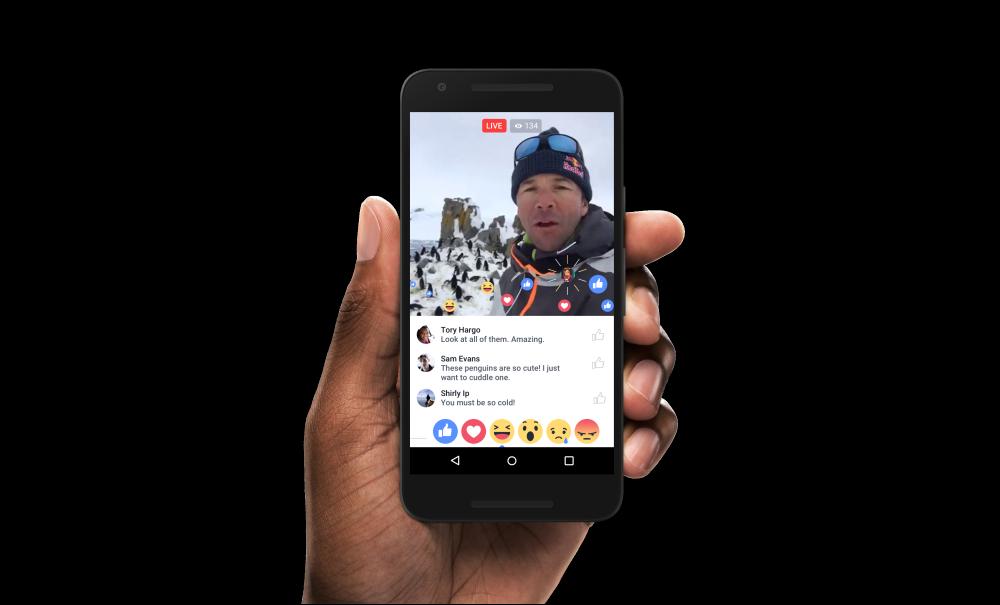 Facebook anunció nuevas mejoras a su app de live streaming