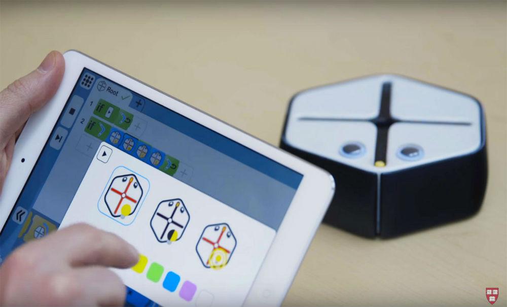 Harvard crea un robot para aprender a programar