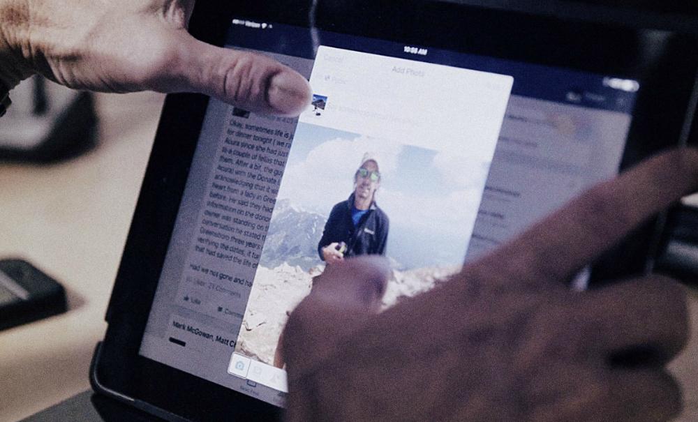 Facebook utiliza la inteligencia artificial para describir fotos a invidentes