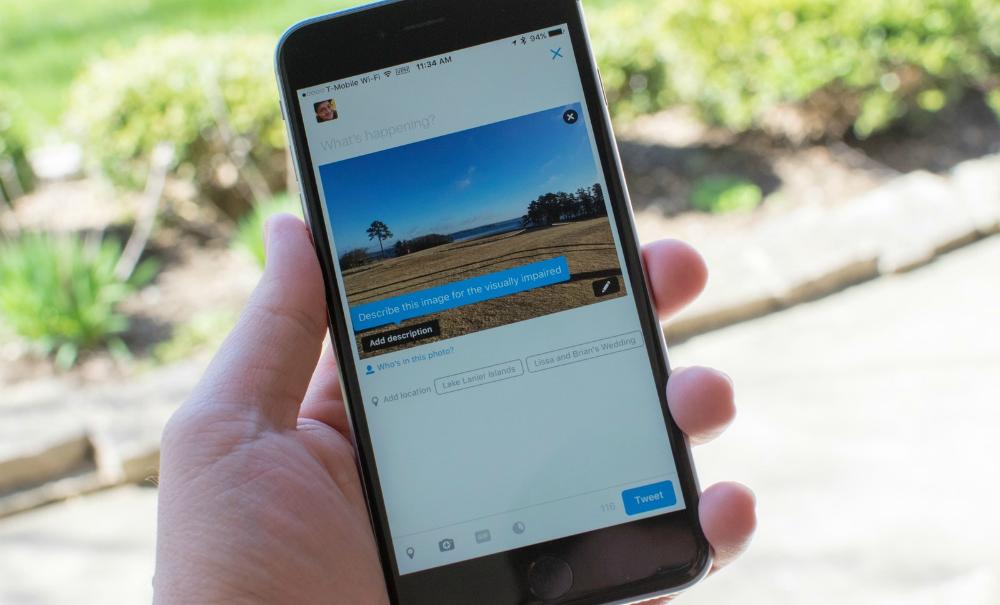Twitter hace que las imágenes sean más accesibles para personas con discapacidad visual