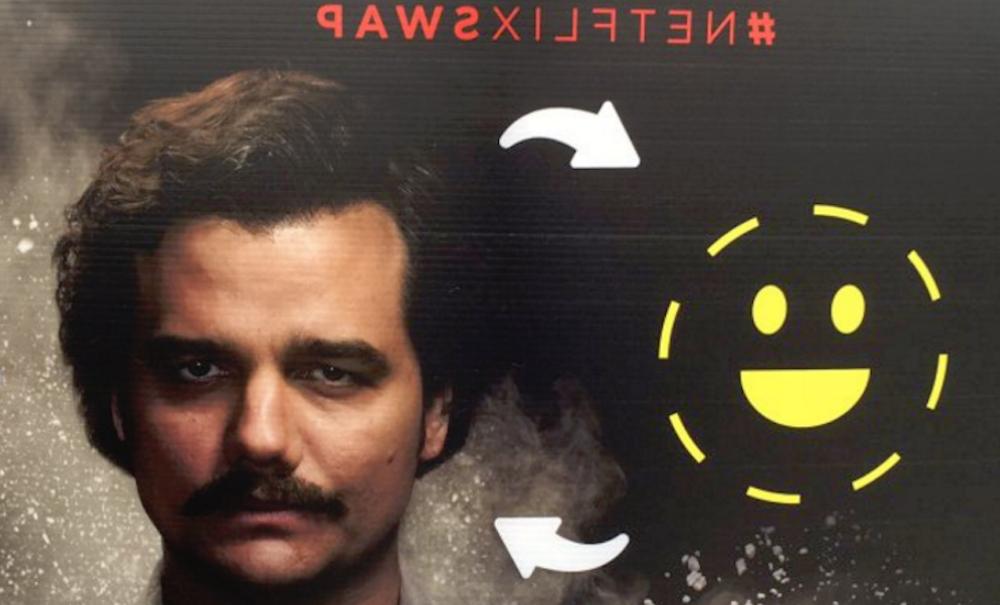 Netflix se animó con una campaña de face-swapping en Snapchat