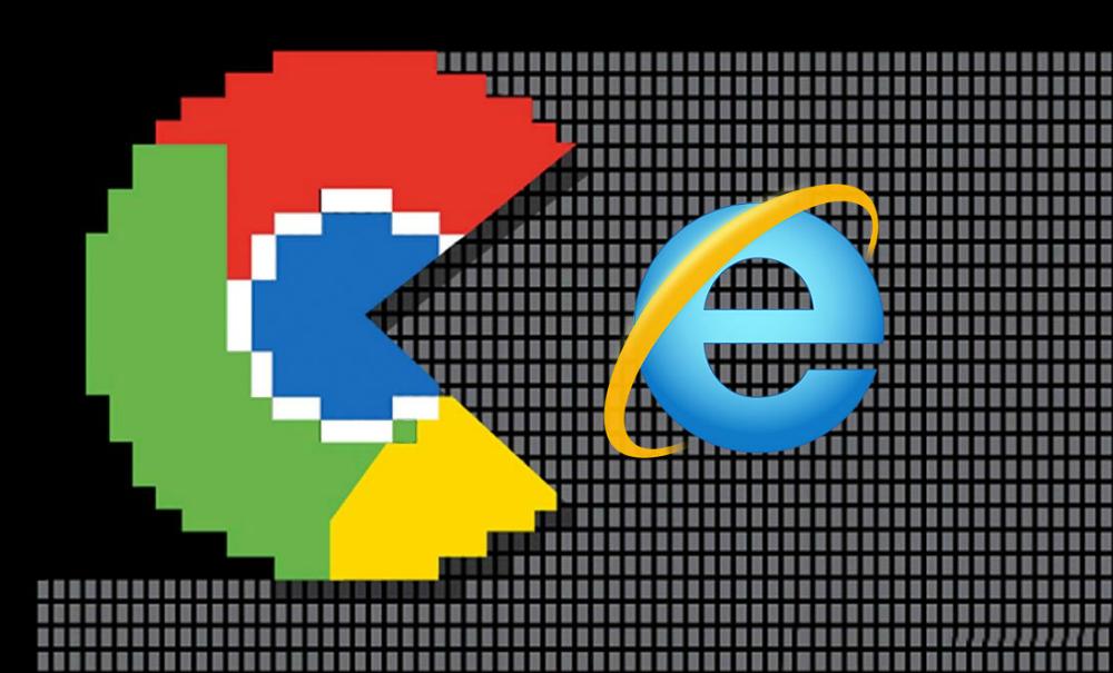 Crónica de una caída anunciada: Chrome supera a Explorer