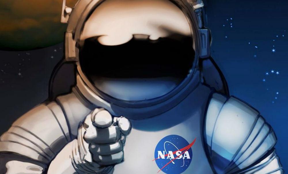 La NASA quiere que imprimas sus carteles de estilo vintage de Marte