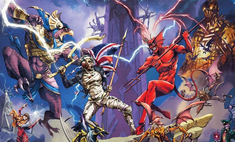 """""""Legacy of the Beast"""", el nuevo videojuego de Iron Maiden para iOS y Android"""