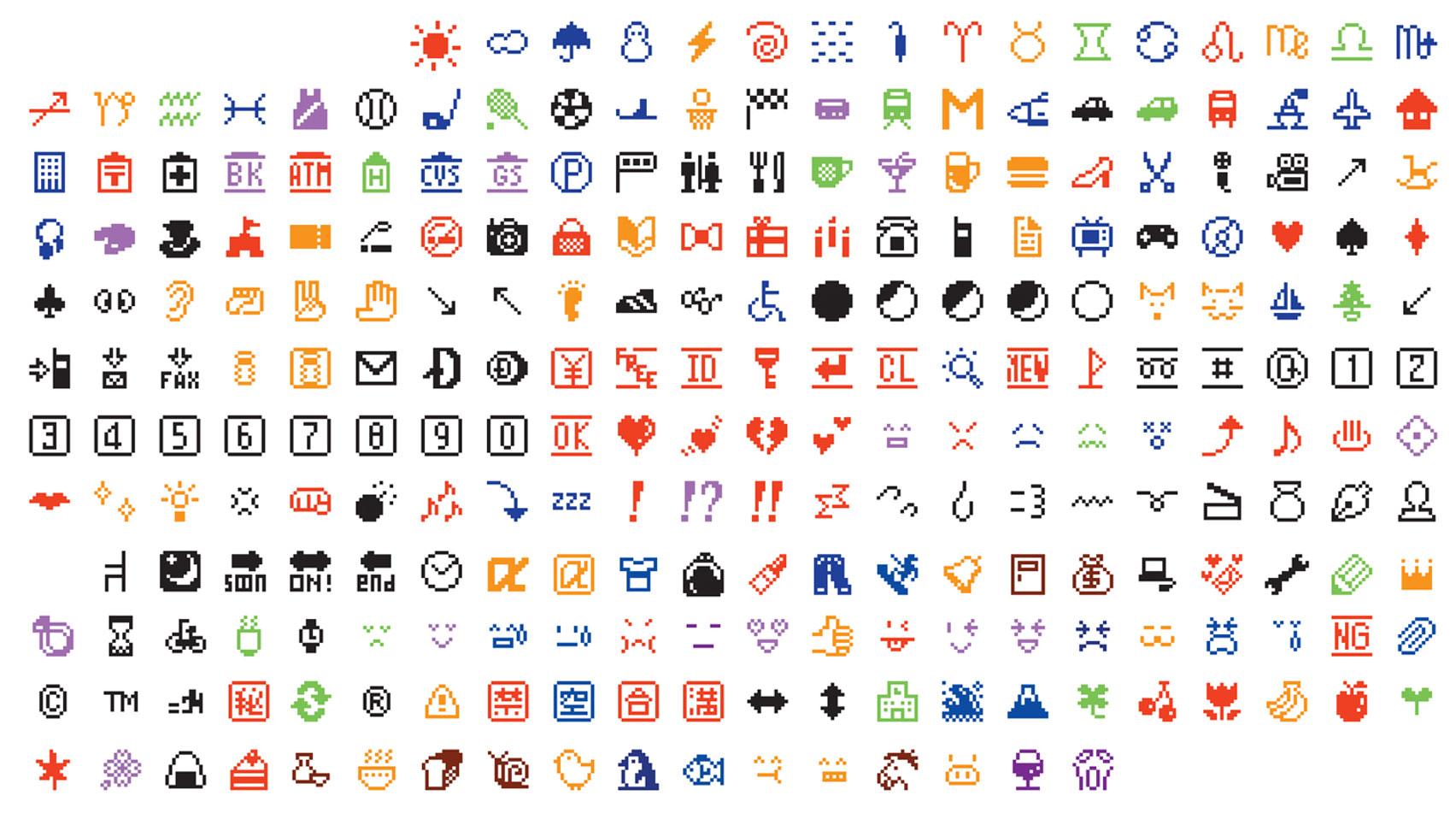 Los emojis, al MoMa