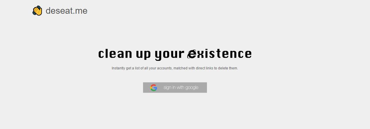 Cómo desaparecer de Internet presionando un botón