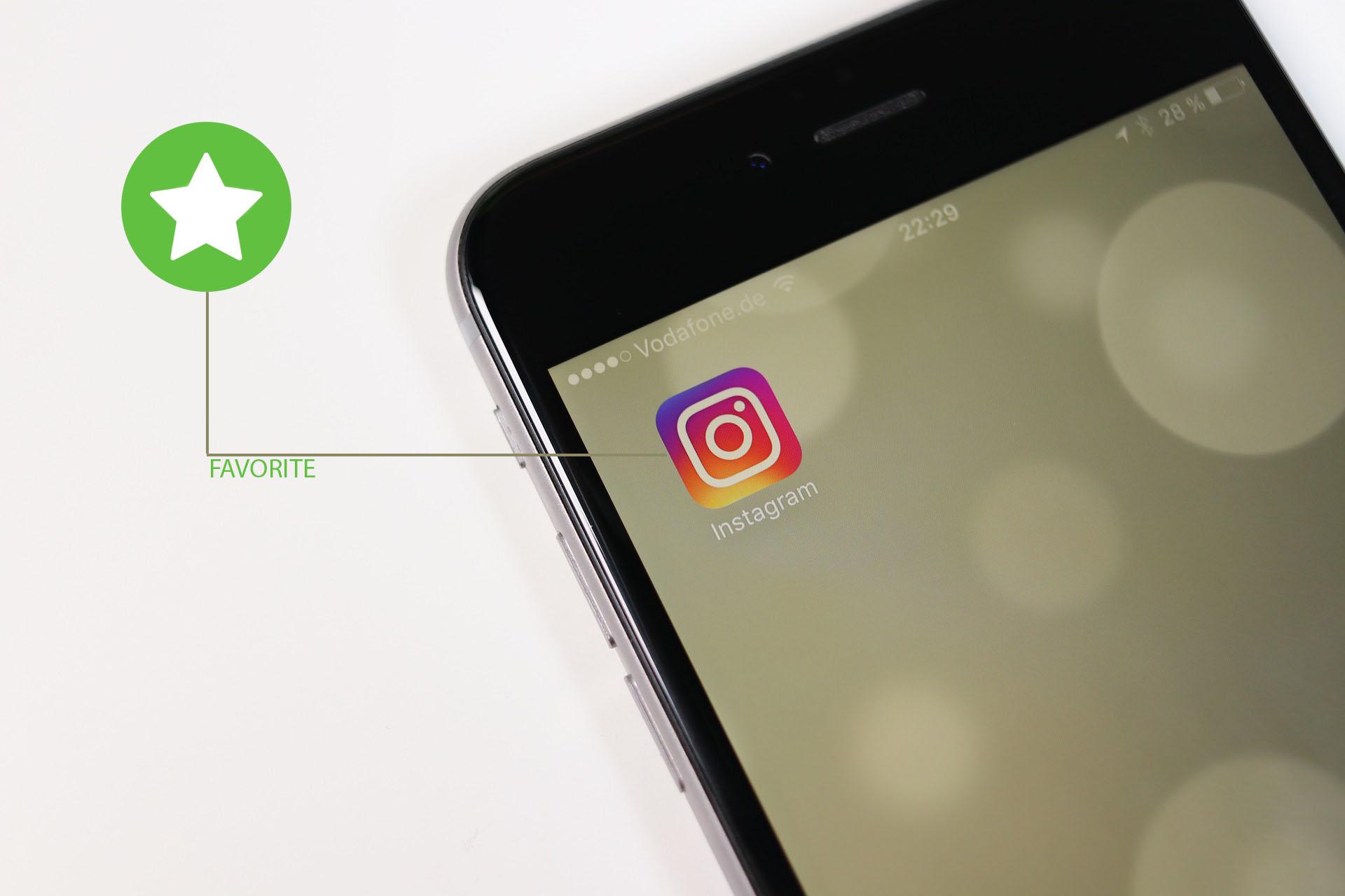 """Instagram se actualiza y quiere que tengas """"amigos"""" favoritos"""