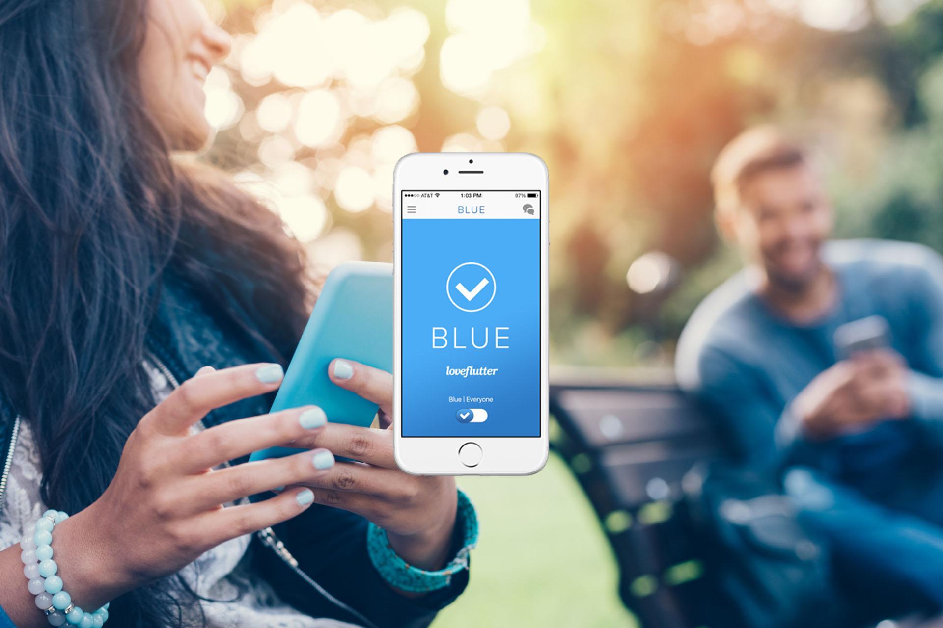 BLUE   Un Tinder para cuentas verificadas en Twitter