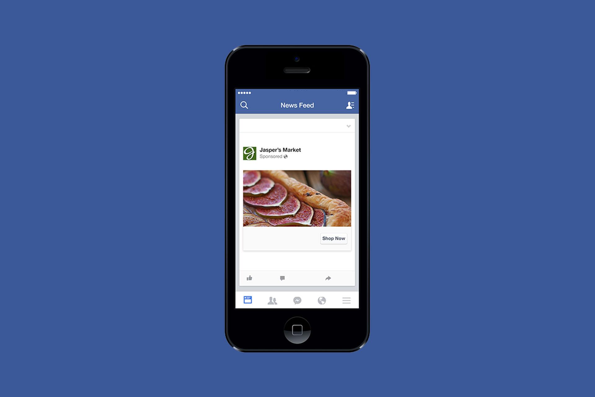 Facebook testea un NewsFeed libre de marcas