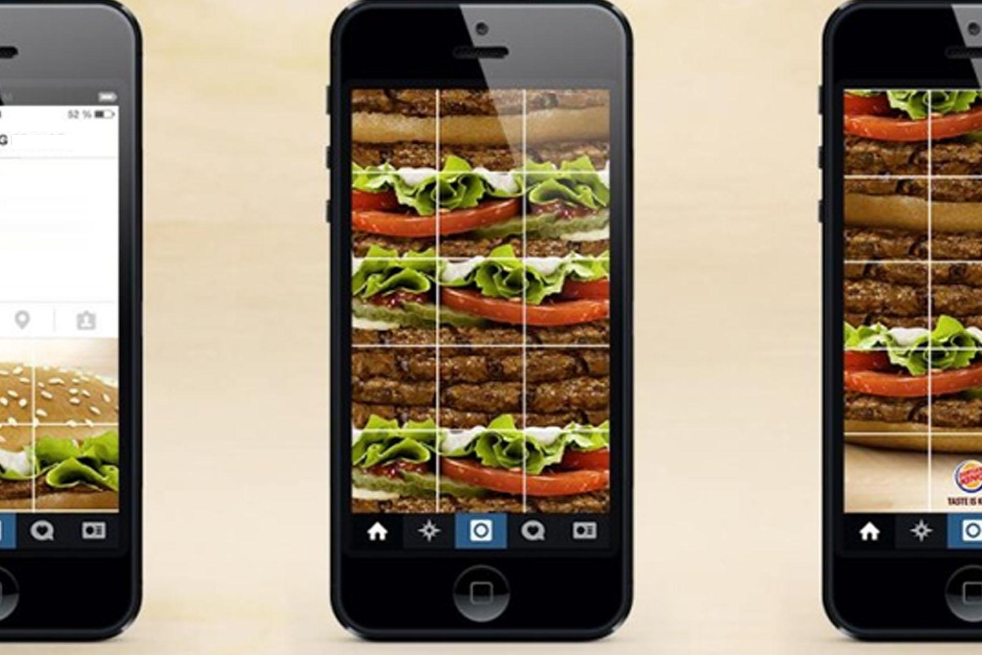 Burger King   Pedí una hamburguesa por Instagram Stories