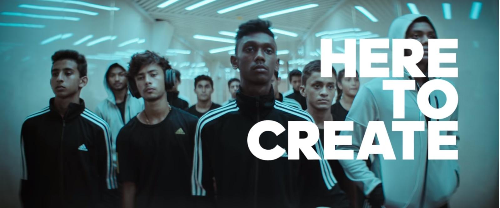 Adidas: Crea la respuesta