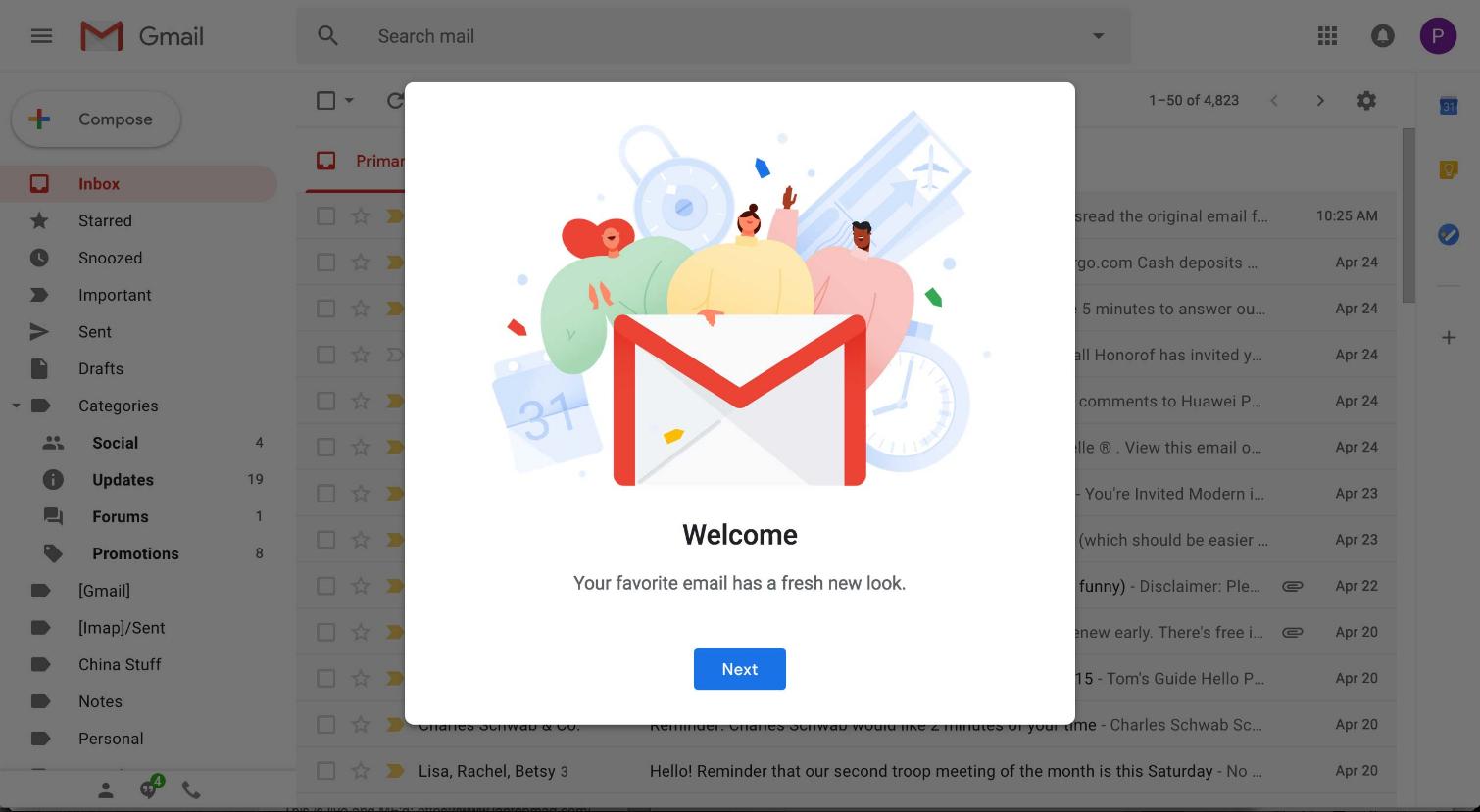 Cómo pasarte a la nueva versión de Gmail