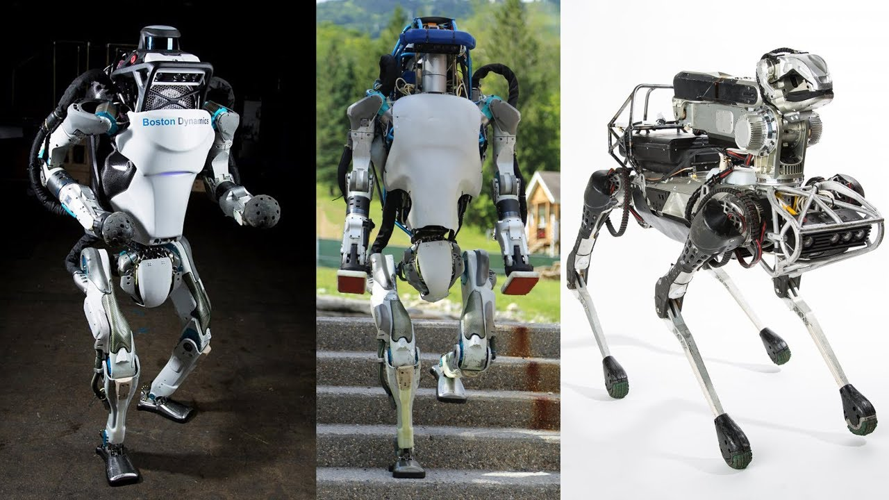 Los famosos robots de Boston Dinamics