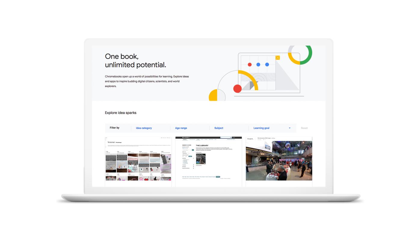 Google lanzará un 'Chromebook App Hub' para aplicaciones educativas e ideas de clases