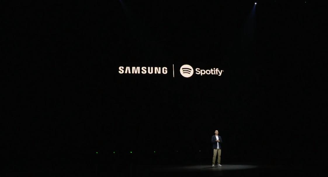 Spotify anunció la sociedad con Samsung centrada en preinstalaciones y pruebas gratuitas