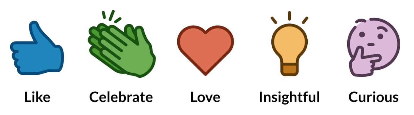 LinkedIn agrega reacciones para estimular un mayor compromiso