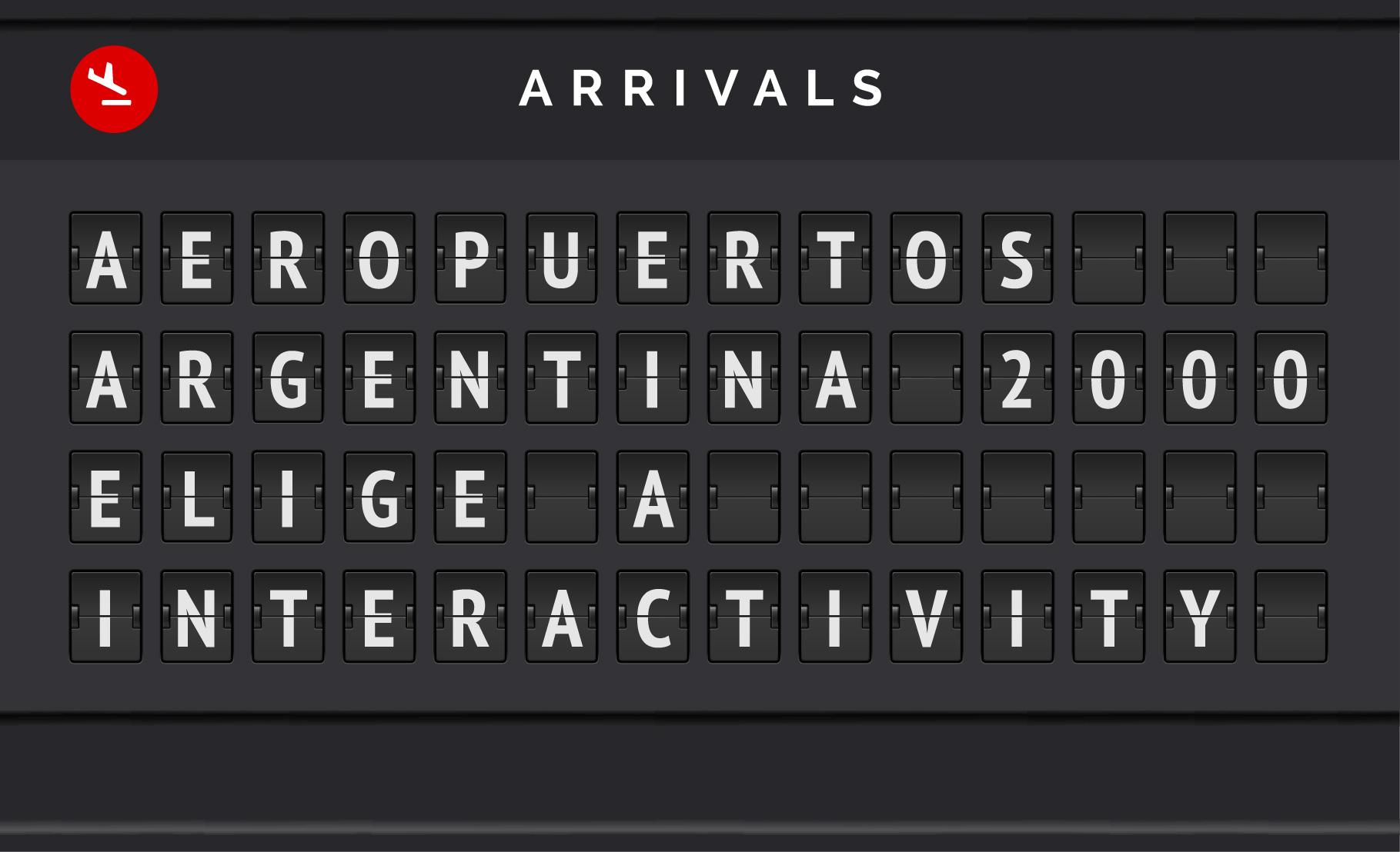 Interactivity es la nueva agencia de Marketing Online de Aeropuertos Argentina 2000