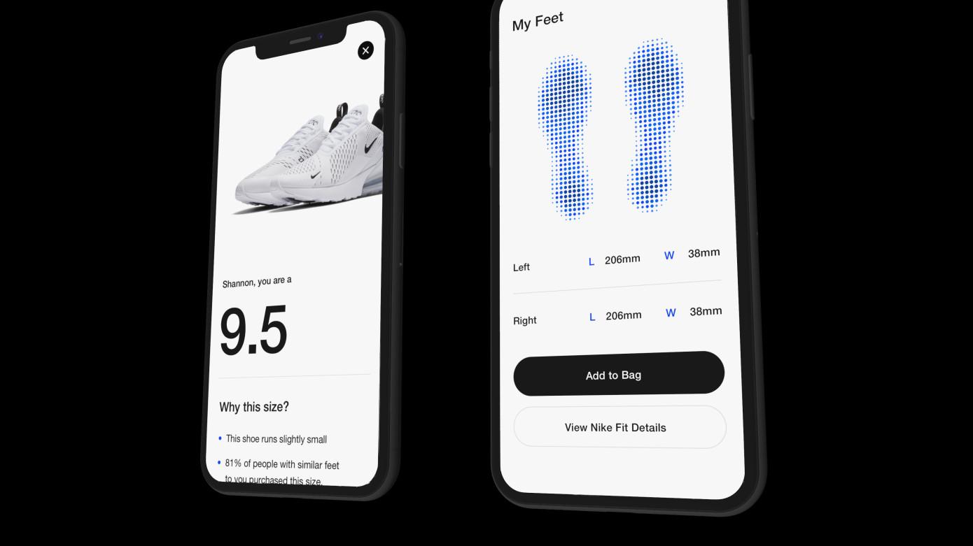 Con la nueva tecnología Fit, Nike se define como una empresa de tecnología