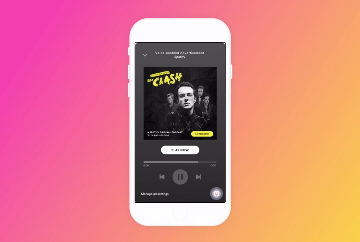 Spotify presenta anuncios de voz en dispositivos móviles en una prueba limitada de Estados Unidos