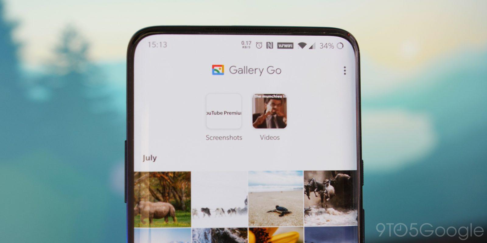 Google presenta Gallery Go, su editor de fotos sin conexión