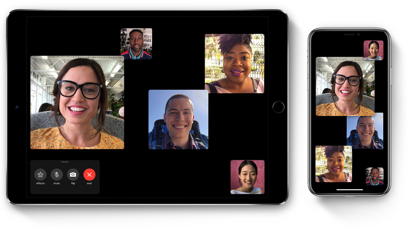 La actualización de iOS 13 de Apple hará que el contacto visual con FaceTime sea más fácil
