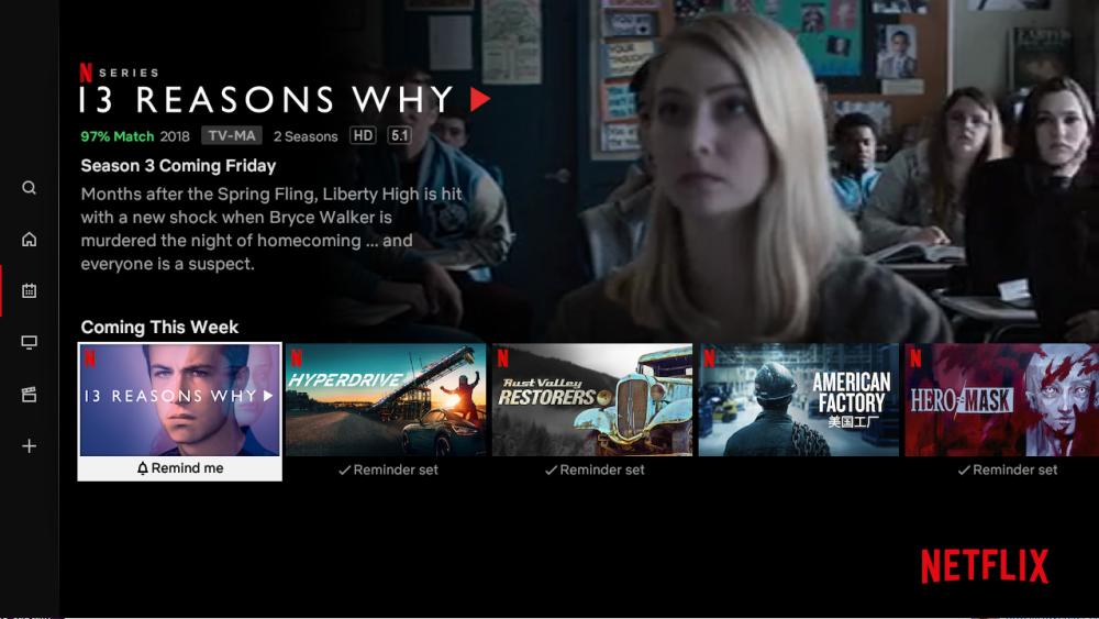 La nueva función de Netflix para rastrear los próximos lanzamientos podría ayudar a retener a los suscriptores