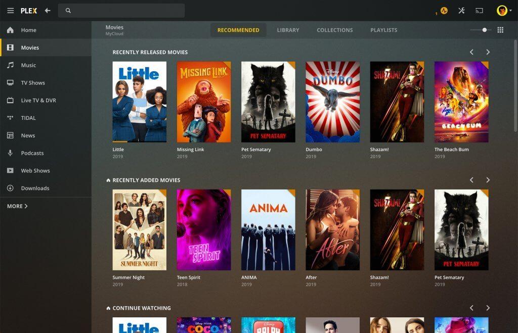El software multimedia Plex lanza una nueva aplicación de escritorio para Mac y Windows