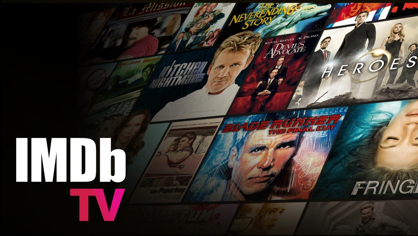 El servicio de transmisión gratuita de Amazon IMDb TV llega a dispositivos móviles
