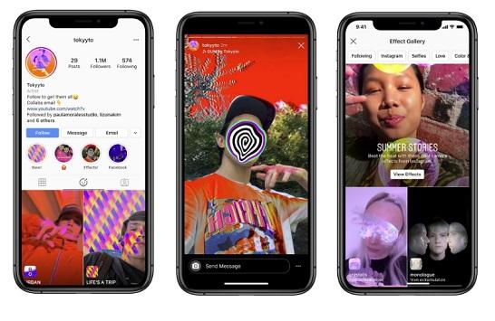Instagram abre las herramientas de creación de filtros AR para todos los usuarios
