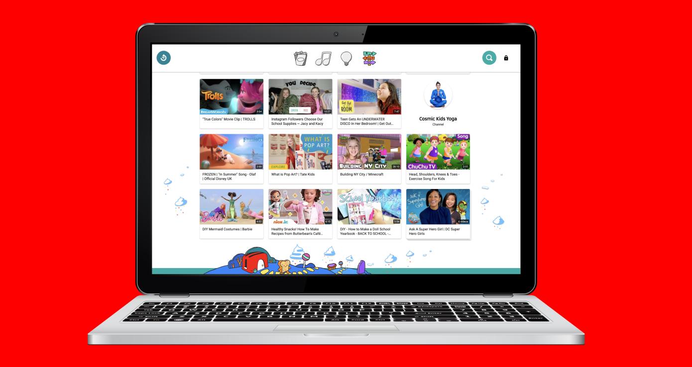 YouTube Kids se lanza en la web