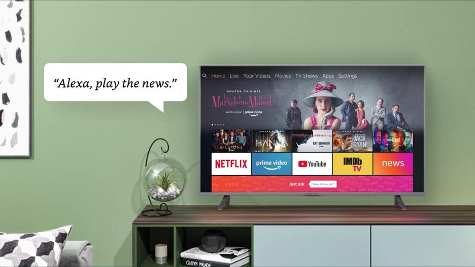 Amazon está lanzando una aplicación para agregar noticias para Fire TV y tablets